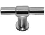 T-greep RVS-Look 55 mm