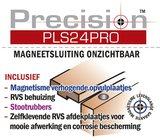 Precision PLS24 Magneetsluiting onzichtbaar zwaar RVS