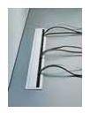 Kabeldoorvoer Metaal ALU-Look 600 x 72.5 mm