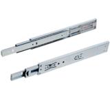 Paar ladegeleiders softclose volledig uittrekbaar 30 cm