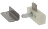 Kastsluiting opbouw met vierkante stift ten behoeve van 20 mm kastdeuren_