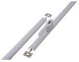 Espagnolet-sluiting opbouw SKG** links & rechts toepasbaar 530 - 2500 mm Zamac Wit