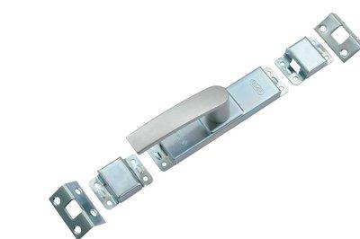 Nemef Krukespagnolet greep aluminium geëloxeerd