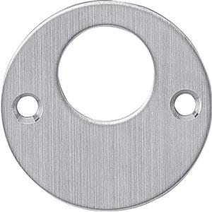 Rondcylinder-plaatje plat 50x2 rvs