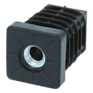 Inslagdop Vierkant 30x30 mm M8
