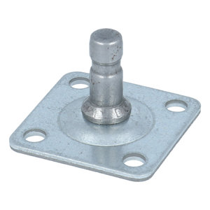 Bevestigingsplaat voor wiel 36,5 x 36,5 mm