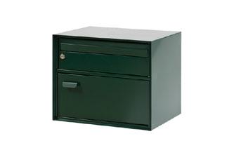 groen brievenbus