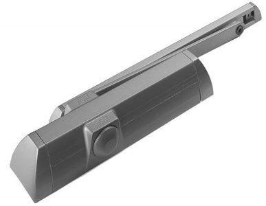 Deurdranger Dorma TS 90-Impulse met glijarm zilvergrijs
