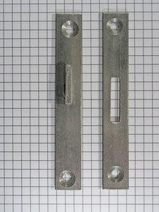 Berliner bedhaak enkel 10 cm.
