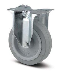 TENTE Bokwiel 100 mm Grijs