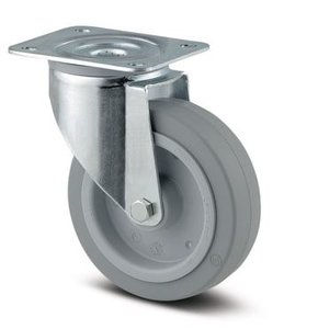 TENTE Zwenkwiel 100 mm Grijs