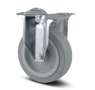 TENTE Bokwiel 125 mm Grijs