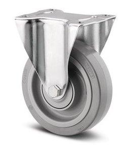 TENTE Bokwiel 160 mm Grijs
