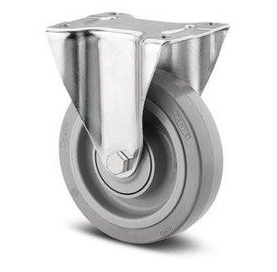 TENTE Bokwiel 200 mm Grijs