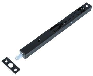 Bascule kantschuif 200x17x15 mm Staal Zwart