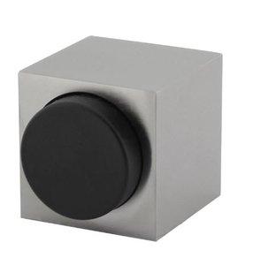 Olivari deurstop Cubo vierkant RVS mat titaan PVD