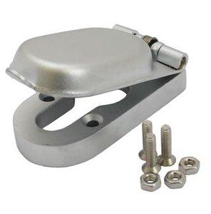 Mauer Cilinder afdekrozet 17 mm Mat RVS
