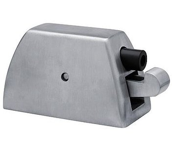 Deurvastzetter vloermodel incl. opvanghaak comfort serie RVS