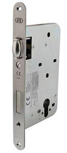 P+E Tonrol dag- en nachtslot PC72 doornmaat 60 mm met rvs geborstelde voorplaat 235x25 mm