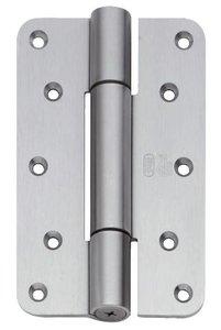P+E Projectscharnier CE hout/hout 160mm rvs geborsteld