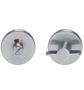 WC-sluiting 8 mm rond Ø50X4MM rvs