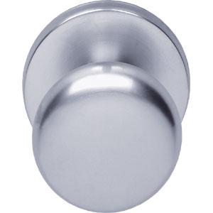 Voordeurknop paddestoel 57/66 chroom mat
