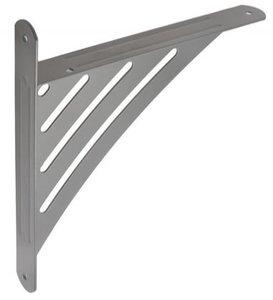 Plankdrager Met strepen Grijs 194x200