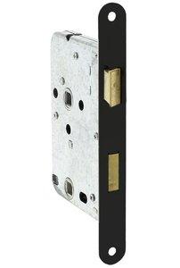 Starx Badkamer/Toilet slot 63/8 mm voorplaat zwart