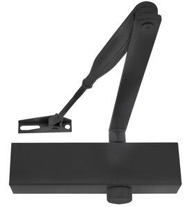 Starx Deurdranger 60 - 85 KG aluminium mat zwart