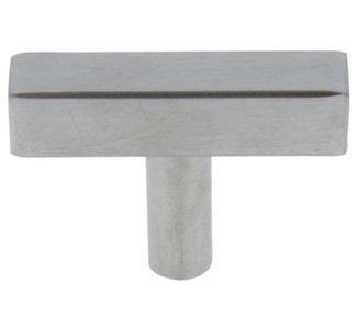 Starx t-knop vierkant/rond 12 x 12 x 50 mm RVS