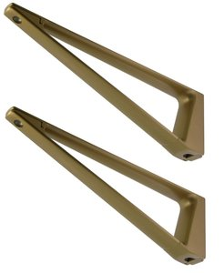 Set plankdragers 230 mm Verouderd Goud
