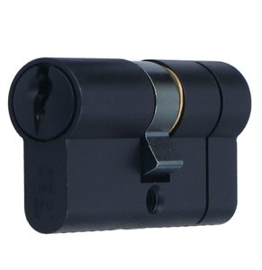 Veiligheidscilinder 30/30 Iseo F6 Extra S SKG*** Zwart