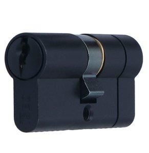 Veiligheidscilinder 40/40 Iseo F6 Extra S SKG*** Zwart