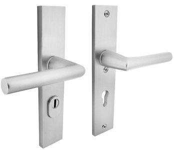 Veiligheidsbeslag Rechthoekig met kerntrek beveiliging kruk/kruk SKG*** PC72 Aluminium F1