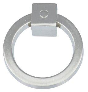 Ringgreep vast 60 mm mat nikkel