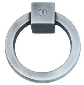 Ringgreep vast 60 mm zilvergrijs schaduw