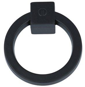 Ringgreep vast 60 mm zwart