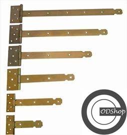 Kruisheng Zwaar Geel gechromateerd 600 x 40 mm
