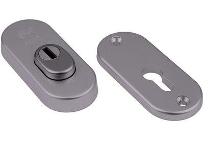 AMI Veiligheidsrozet Ovaal met kerntrekbeveiliging SKG***® Aluminium F1