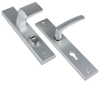 AMI Veiligheidsgarnituur VARO Rechthoekig met kerntrekbeveiliging PC55 SKG*** Aluminium F1