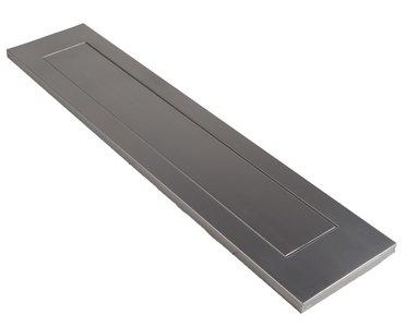 AMI Briefplaat Binnendraaiend met veer aluminium geanodiseerd F1