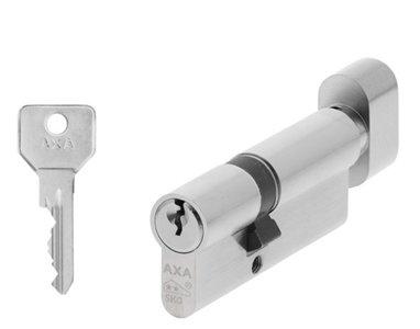 AXA Knop Veiligheidscilinder Security K45/30 SKG**