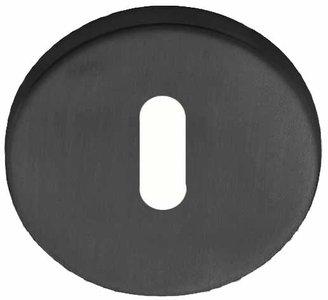 Sleutelplaatje Rond 52 mm PVD Gunmetal