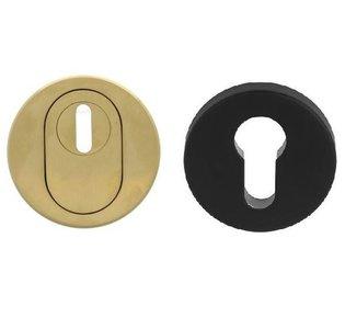 Veiligheid-Rozet Met Kerntrekbeveiliging Buiten Goud/Binnen Zwart