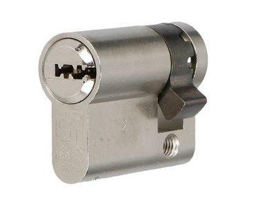 Enkele veiligheidscilinder S2 SKG** 30/10 Met Keersleutel