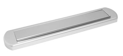 Briefplaat aluminium Clima Comfort Afgerond S2