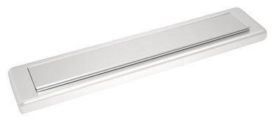 Briefplaat aluminium Clima Comfort Rechthoekig S2