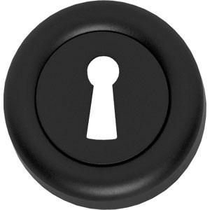 Sleutelplaatje Cali verdekt afgerond zwart