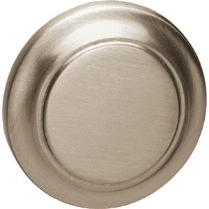 Knopkruk 50 mm nikkel mat