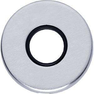 Rozet rond verdekt chroom mat